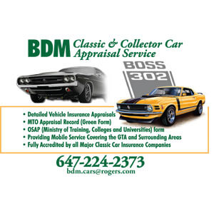 BDM Classic & Collector Car Appraisals
