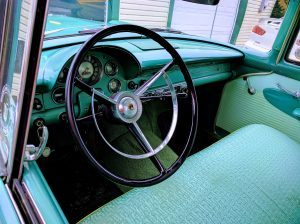 Ford Customline steering wheel