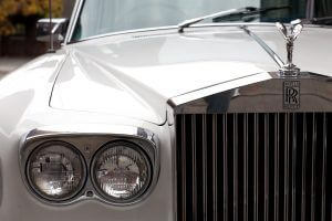 1970 Rolls Royce Grill