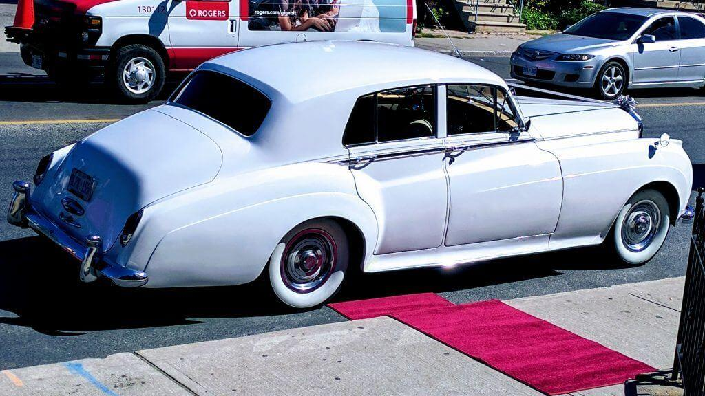 Red Carpet Service with all our Vintage Cars