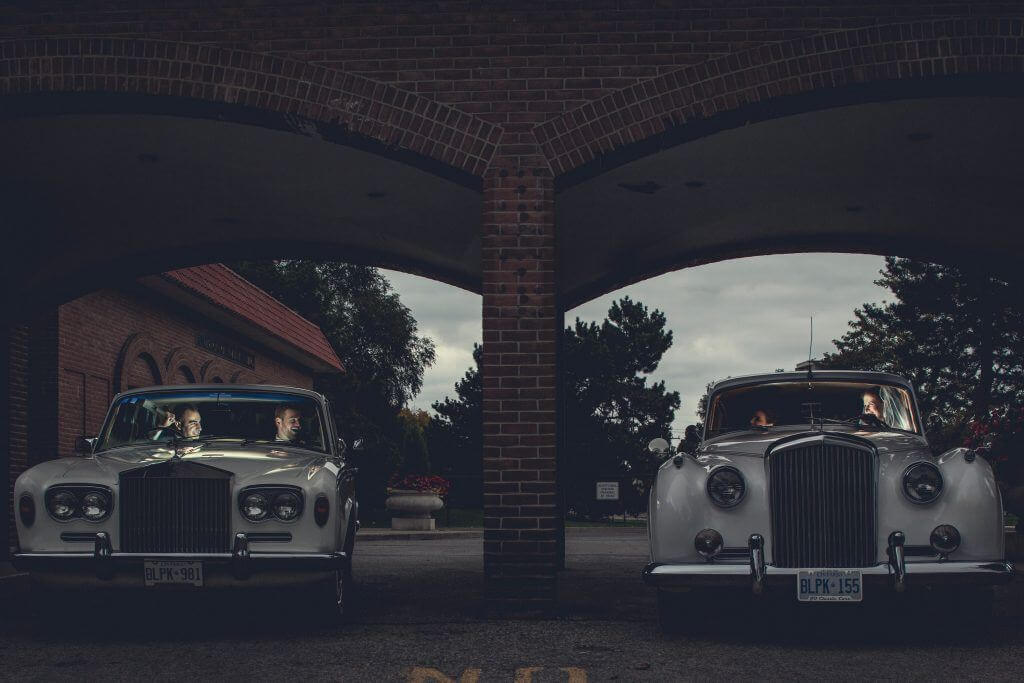 Our Vintage Cars side by side